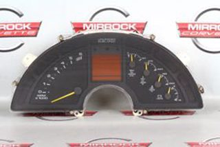 84-85 Corvette C4 Instrument Cluster Gauge Bezel Dash Surround NICE